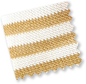 White Striped Straw
