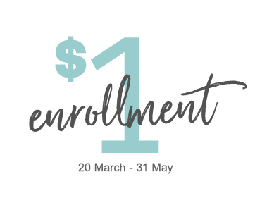 $1 enrollment March 20 - May 31