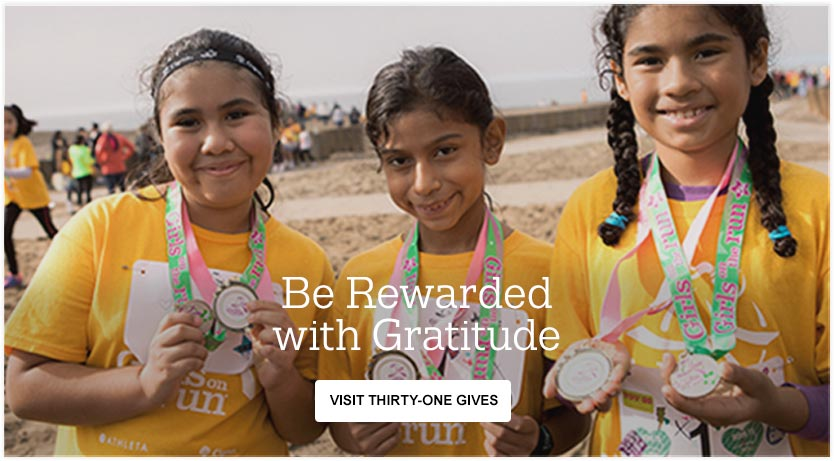 Be Rewarded with Gratitude - Visit Thirty-One Gives