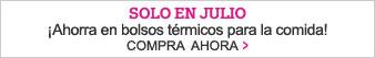 Solo en Julio - ¡Ahorra en bolsos termicos para la comida! - Compra ahora