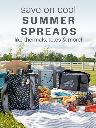save on cool SUMMER SPREADS like thermals, totes & more! 50% OFF a regular-priced item when you spend $50!1  Shop Bestsellers