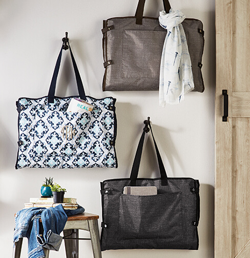 Well Suited Carment Tote