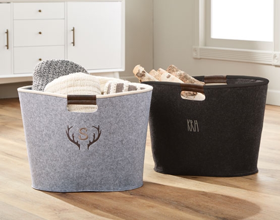 Large Felt Storage Tote