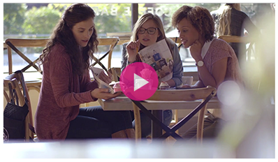 video thumbnail - three women at a table