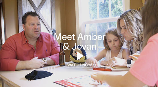 Meet Amber and Jovan Video. Watch Now.
