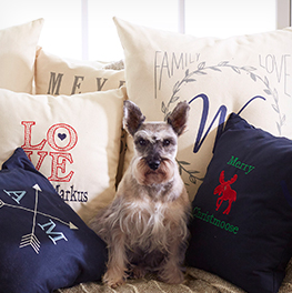 pillows with personalization