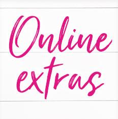 Productos extras en línea