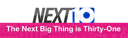 Next 10: The Next Big Thing segment about Thirty-One Gifts