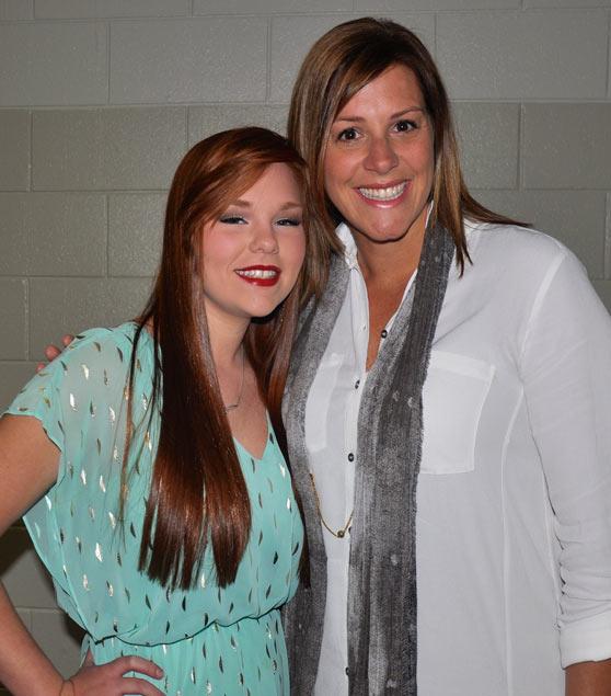 Savannah Bennett and Cindy Monroe