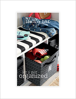 Let's Get Organized Catalog cover