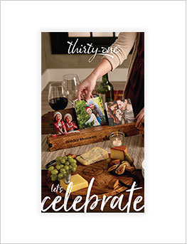 Let's Celebrate Catalogue cover