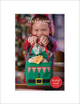 Holiday 2018 gift guide Catalog cover