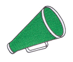 Example of a Cheer Megaphone