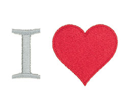 Example of an I Heart Icon-It
