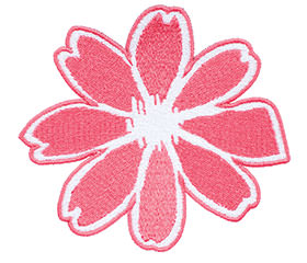 Example of embroidery without text