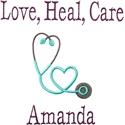 Love, Heal, Care personalization
