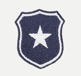 Example of Police Shield