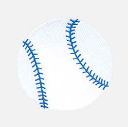 Example of the baseball icon
