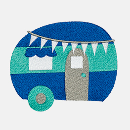 Example of a camper icon-it