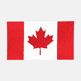 Example of a Canadian flag icon-it
