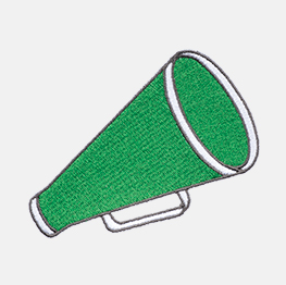 Example of the Megaphone icon