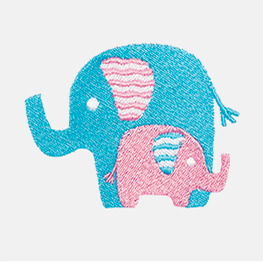 Example of an Elephant icon