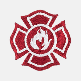 Example of a fire fighter icon-it