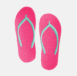 Example of a flip-flops icon-it