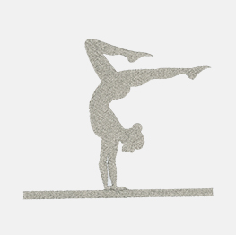Example of a gymnast icon-it