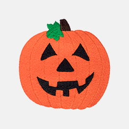 Example of a jack o'lantern icon-it