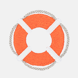 Example of a life preserver icon-it