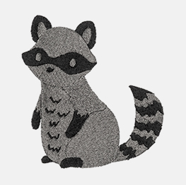 Example of an raccoon
