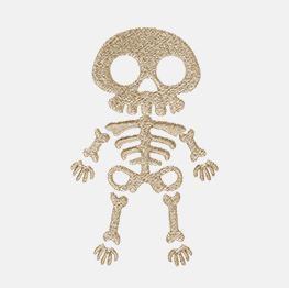 Example of a skeleton icon-it