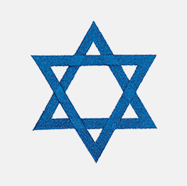 Example of a star of david icon