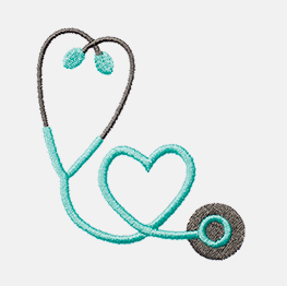 Example of stethoscope
