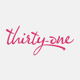Example of a Thirty-one Logo Icon-It