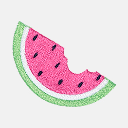 Example of a watermelon slice icon-it