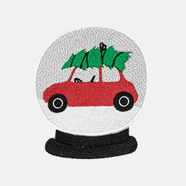 Example of a Snow Globe Car icon-it