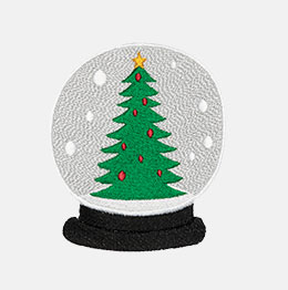 Example of a Snow Globe Tree icon-it