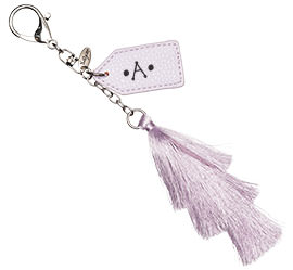 bag charm Embellished
