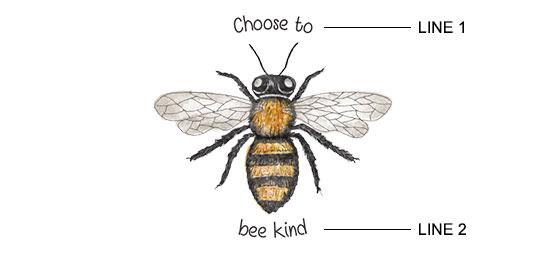 Bee Print example