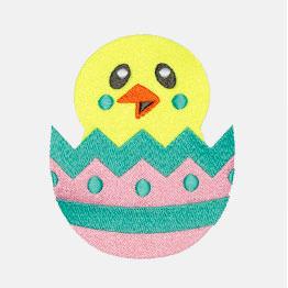 Ejemplo de un icon-it de huevo de pollito