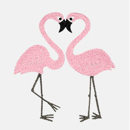Example of a Flamingo Duo icon-it