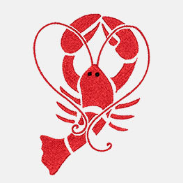 Ejemplo de un icon-it de langosta