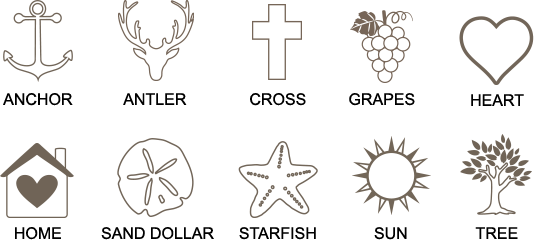 our year etching icon options