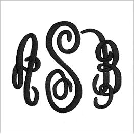 Example of monogram
