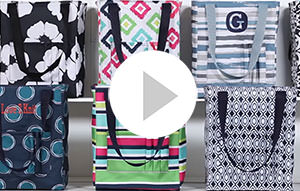 Customer Special YouTube Video Tall Organizing Tote