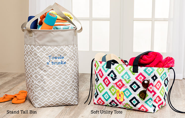Stand Tall Bin and Soft Utility Tote