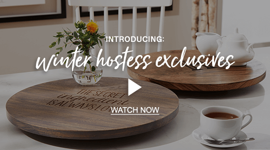 Watch the 'Winter hostess exclusives' video