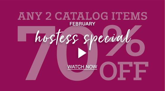 January Hostess Special Video